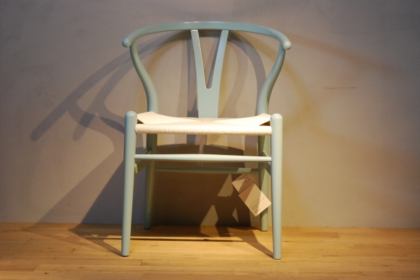 CH24 Wishbone Chair colour NCS5020-B10G