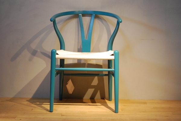 CH24 Wishbone Chair colour NCS4040-B10G