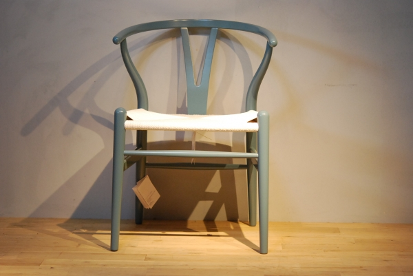 CH24 Wishbone Chair colour NCS2030-B30G