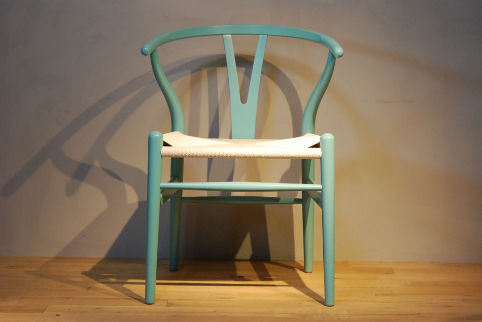 CH24 Wishbone Chair colour NCS2020-B10G